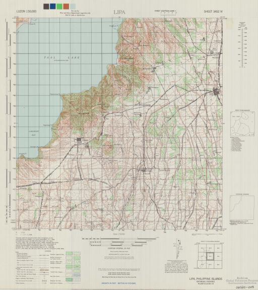 Map of Lipa