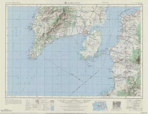 Map of Iloilo City