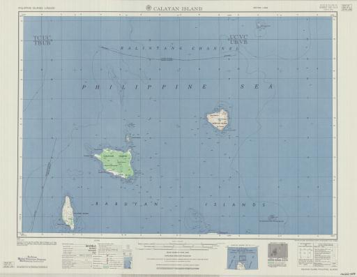 Map of Calayan Islands