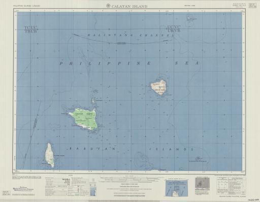 Map of Calayan Islands