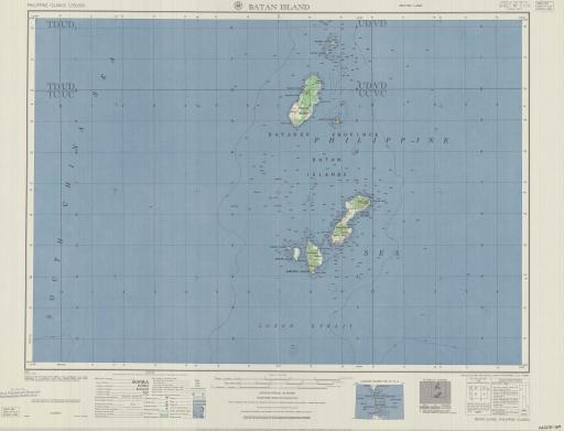 Map of Batan Island