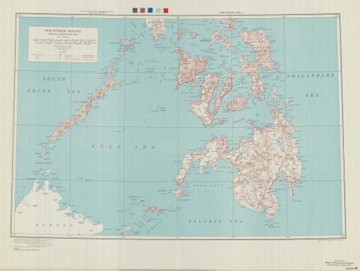 Map of Philippines South: Special Strategic Map