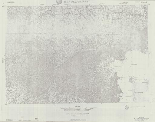 Map of Mendez-Nunez, Luzon