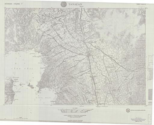 Map of Tanuan, Batangas
