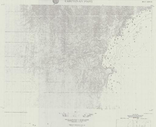 Map of Cabutunan Point