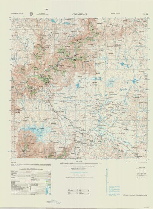 Map of Cotahuasi
