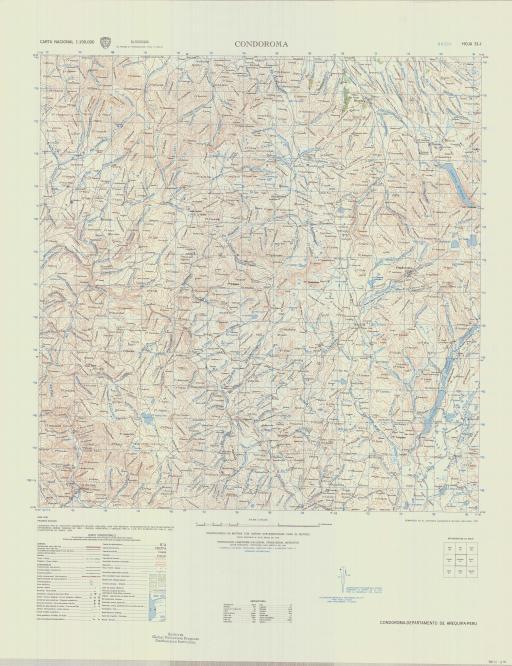 Map of Condoroma