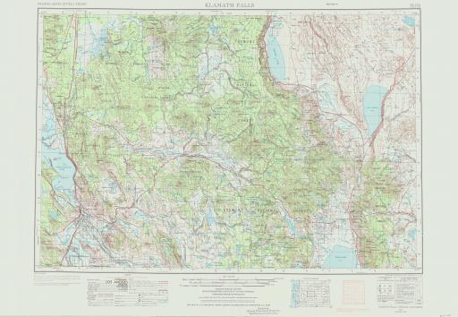 Map of Klamath Falls