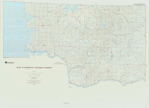 Map of WA-SW, State of