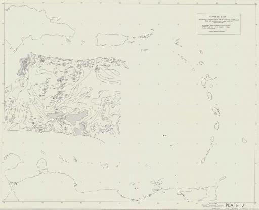 Map of Venezuela Basin: Sed Thickness Top of A-Top of B