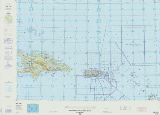 Map of Antigua and Barbuda, Dominican Repub, Greater and Lesser Antilles